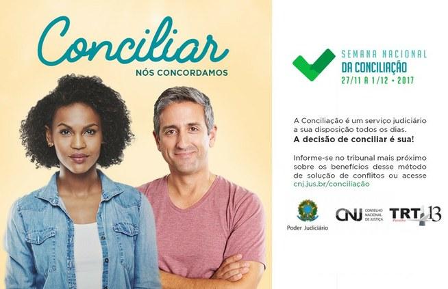 Semana Nacional da Conciliação   começa nesta segunda (27) com novidades
