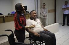 Adeildo Soares participou ativamente do treinamento