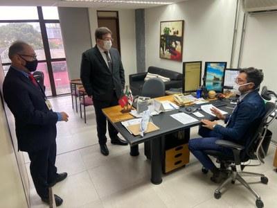 Visitas aconteceram a setores da sede do Regional e ao Fórum