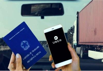 """Para a relatora do processo, o reclamante não é empregado, """"mas usuário da plataforma Uber"""""""