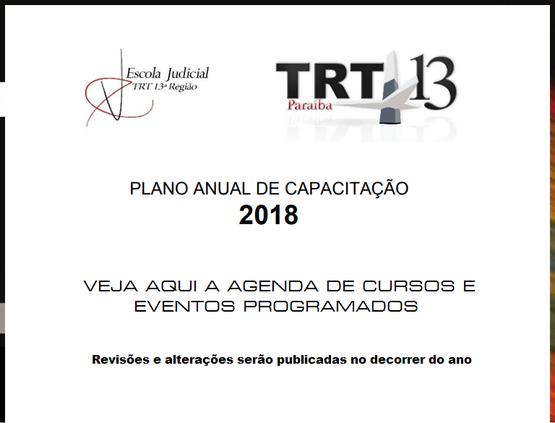EJud Divulga Plano Anual de Capacitação 2018